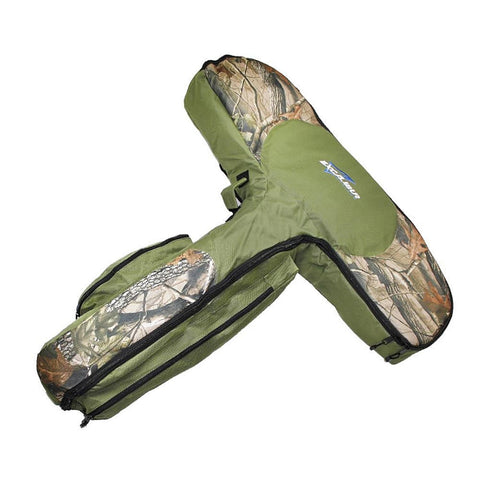 Excalibur Deluxe T-Form Padded Case Green-Camo