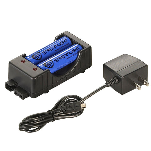 Streamlight 18650 Button Top Li-Ion Battery-Charger-120V AC