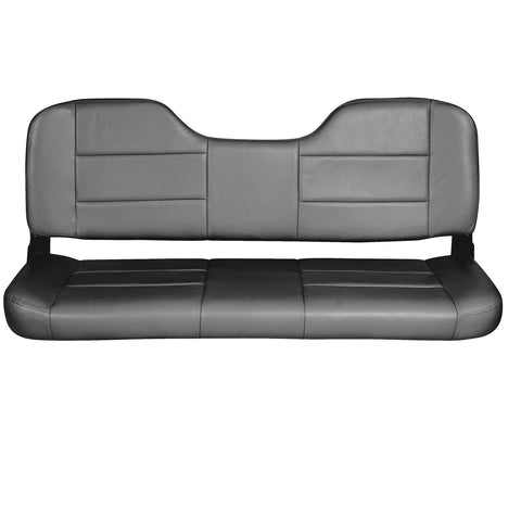 Tempress 48in Folding Bench Seat - Charcoal
