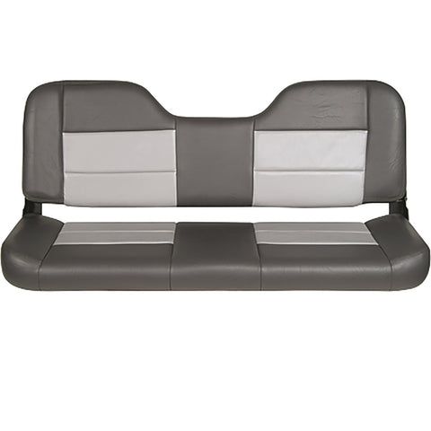 Tempress 48in Folding Bench Seat - Charcoal-Gray