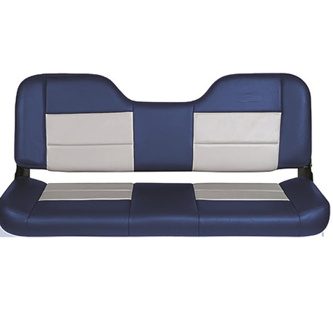 Tempress 48in Folding Bench Seat - Blue-Gray