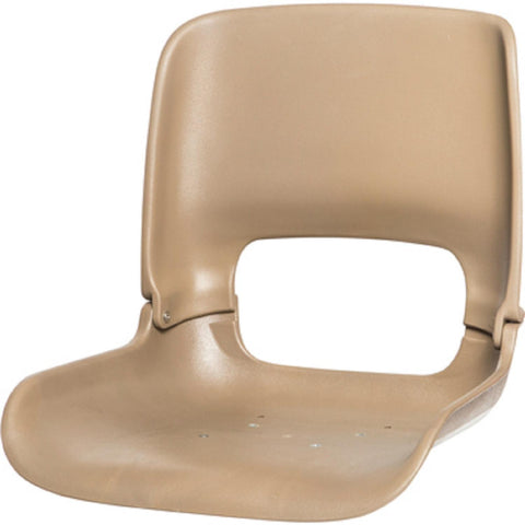 Tempress All-Weather Hi Back Seat Shell with T-Nuts - Cafe