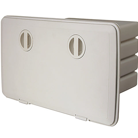 Tempress 1323 Boat Cam Tackle Hatch Cover - White