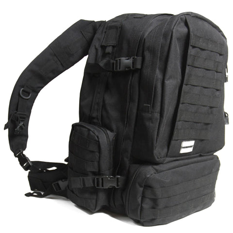 Humvee 3-Day Assault Pack - Black