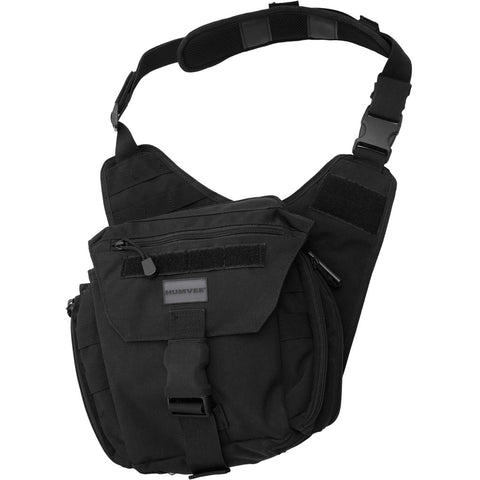 Humvee Shoulder Bag - Black