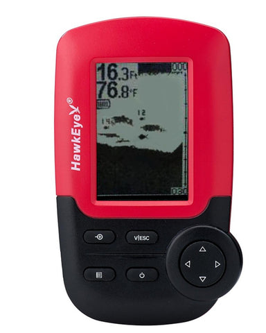 HawkEye FishTrax 1X Dot Matrix Fish Finder