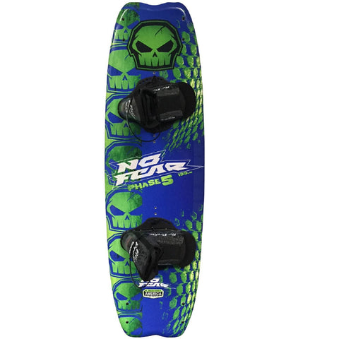 Nash No-Fear Phase 5 4-Point Wakeboard w- Brandon Bindings