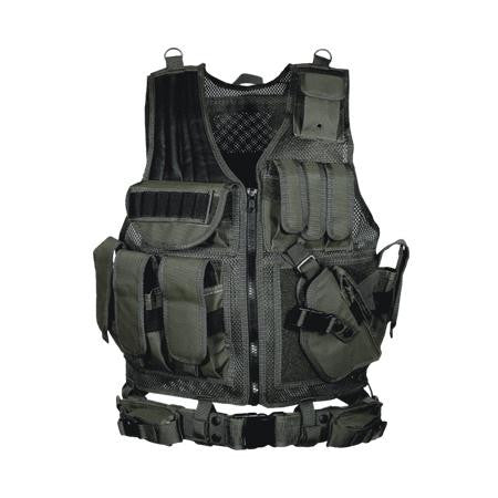 Leapers 547 Law Enforcement Tactical Vest Black