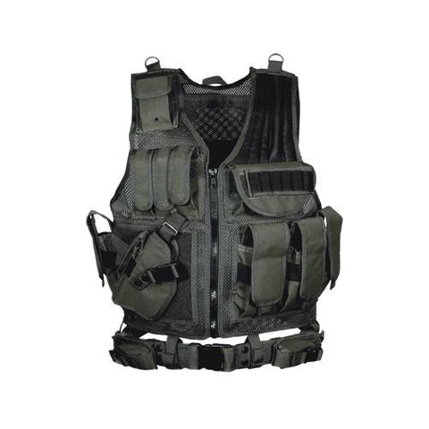 Leapers 547 Law Enforcement Tactical Vest - Lh Black