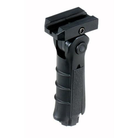 Leapers Ergonomic Ambidex 5 Pos Foldable Foregrip Black