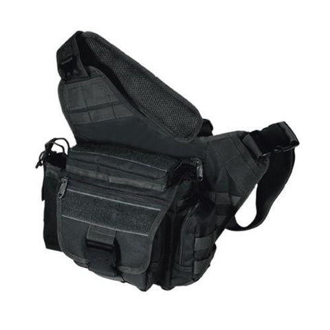Leapers Multi Functional Tactical Messenger Bag Black