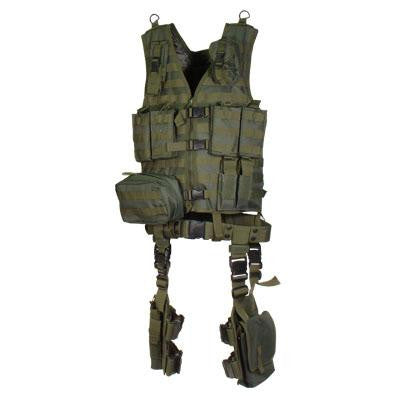 Utg Ult Tact Gear Modular 10 Piece Kit - Od Green