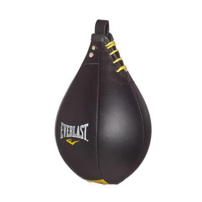 Everlast Leather Speed Bag Black Large