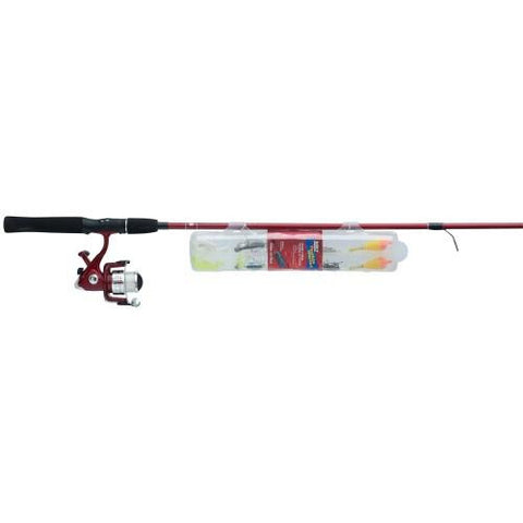 Zebco 20 Spin Combo 5ft 6in 2pc Med W-Tackle Wallet