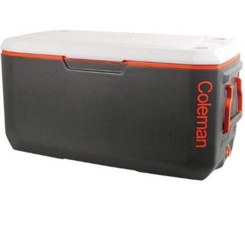Signature Cooler 120 Qrt Xtreme Drk Gry-Org-Lt Gry Ovmld Hnd