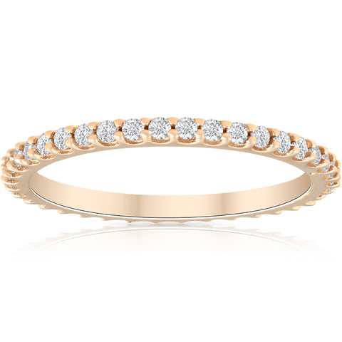 1/3ct Diamond Eternity Ring Available in 14k Gold