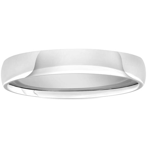 3mm Plain High Polished Wedding Band 950 Platinum