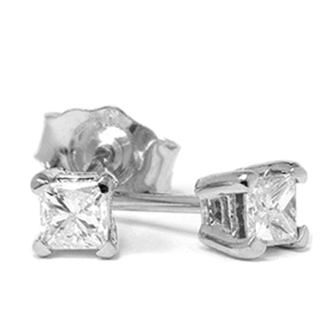 1/3ct Diamond Studs 14K White Gold