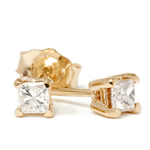 1/3ct Diamond Studs 14K Yellow Gold