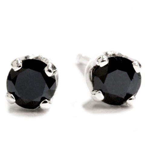 1/3ct Diamond Studs Sterling Silver