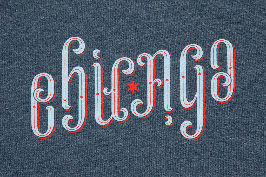Chicago Ambigram Shirt