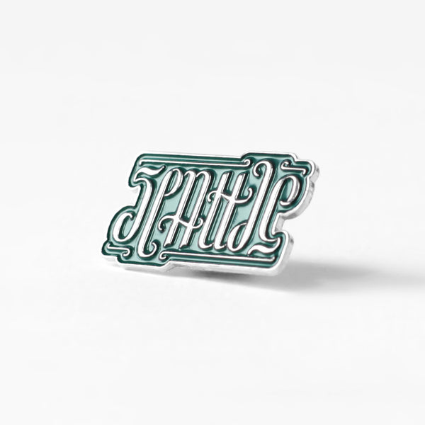 Seattle Ambigram Pin