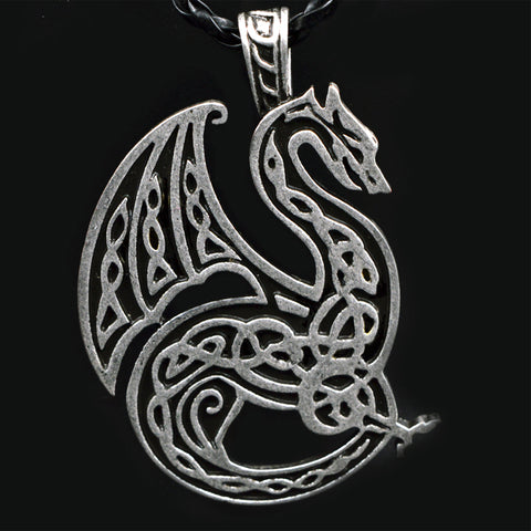 DragonPower™ - Force of Nature Leather Necklace