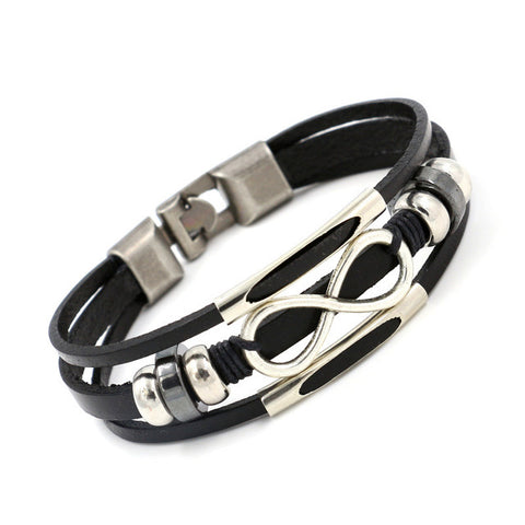 Infinite Power™ - The Leather Bracelet