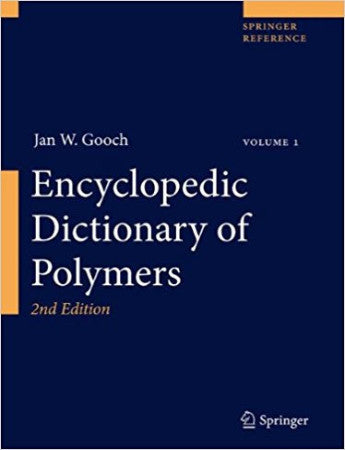 Encyclopedic Dictionary of Polymers, 2nd Ed