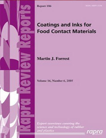Coatings and Inks for Food Contact Materials
