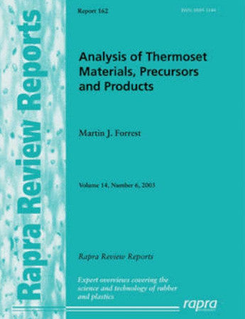 Analysis of Thermoset Materials, Precursors and Products.