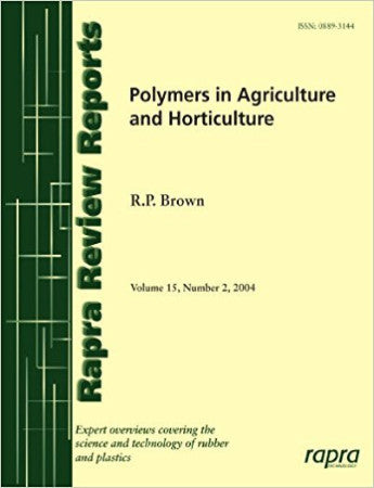 Polymers in Agriculture and Horticulture.