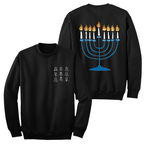 Adam Pally Clone Wolf Menorah