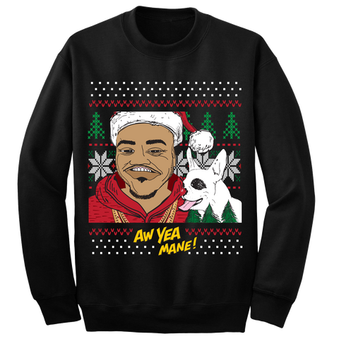Trey Songz Aw Yea Mane! HaHa Holiday Sweater