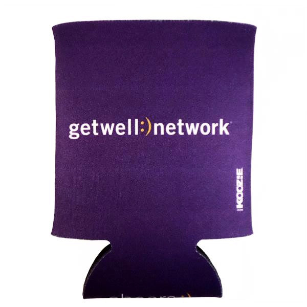 GetWellNetwork Purple Koozie®
