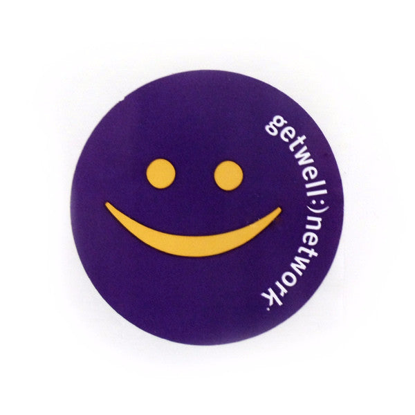 GetWellNetwork Circular Stickers