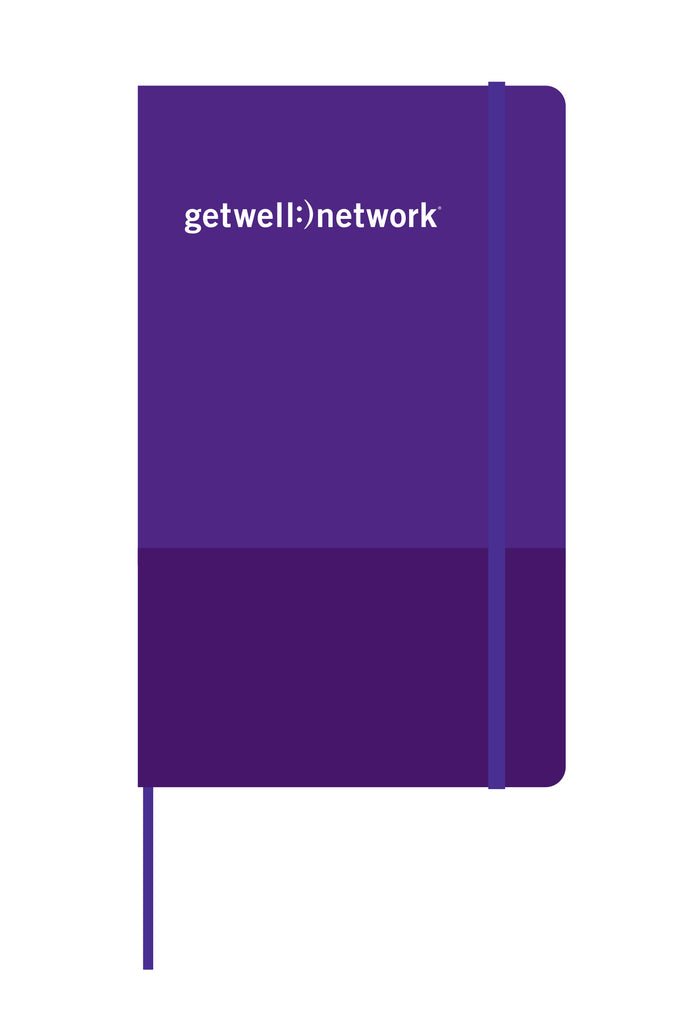 Two-tone Purple Journal Notebook