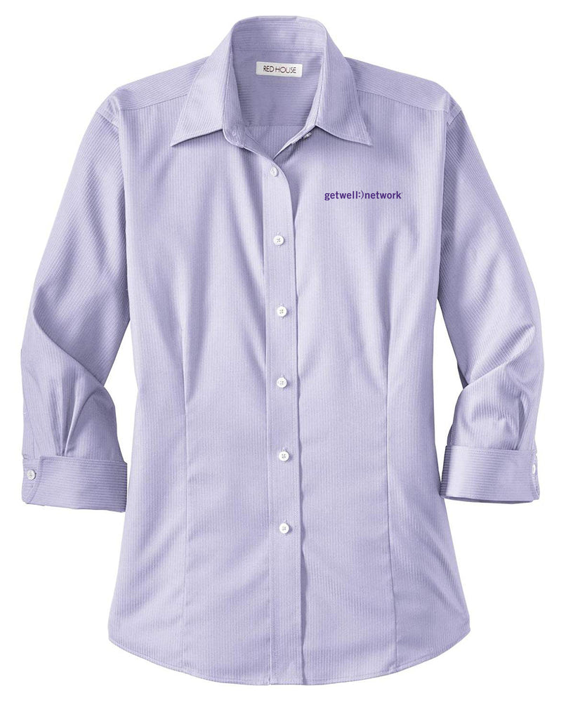Women's Red House 3/4 Sleeve Lavender Shirt