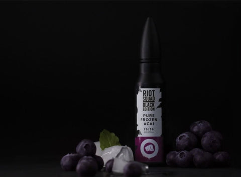 Riot Squad Eliquid | Black Edition | Pure Frozen Acai