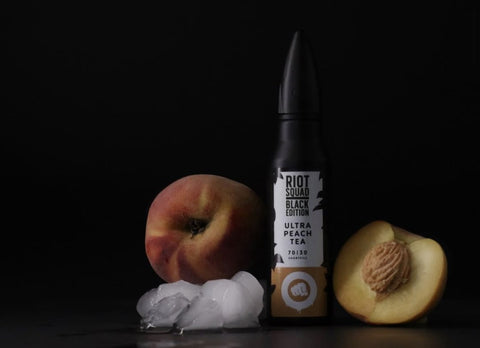 Riot Squad Eliquid | Black Edition | Ultra Peach Tea
