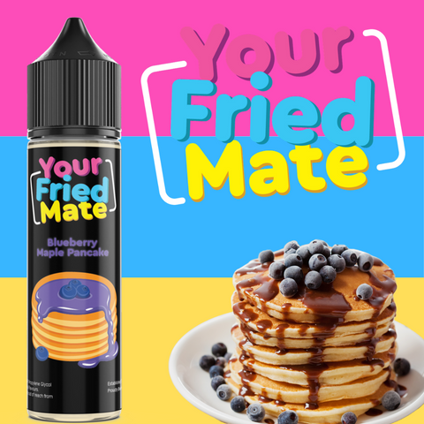 YOUR FRIED MATE - BLUEBERRY MAPLE PANCAKE