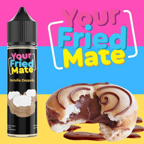 YOUR FRIED MATE - NUTELLA ZEPPOLE