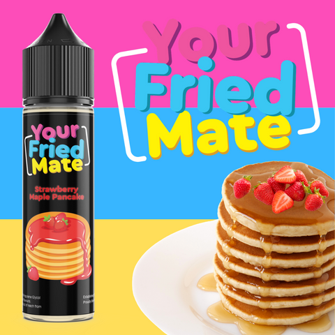 YOUR FRIED MATE - STRAWBERRY MAPLE PANCAKE