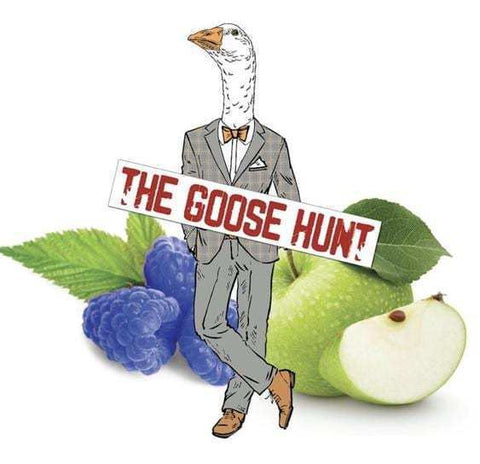 LVA Fundraiser Juice - The Goose Hunt - Blue Razz Apple