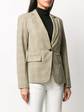 Load image into Gallery viewer, Michael Kors Tattersall Blazer