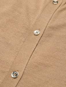 Michael Kors Solid Button Back Sweater