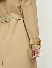 Load image into Gallery viewer, JUST Female Rosalie Trench Coat
