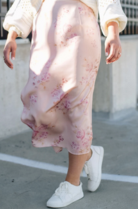 Saltwater Luxe Floral Skirt