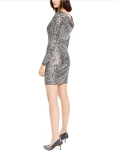 Load image into Gallery viewer, Michael Kors Foil Cowl Back Dress
