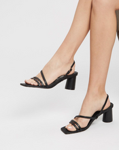 Load image into Gallery viewer, Sol Sana Yole Heel - Black